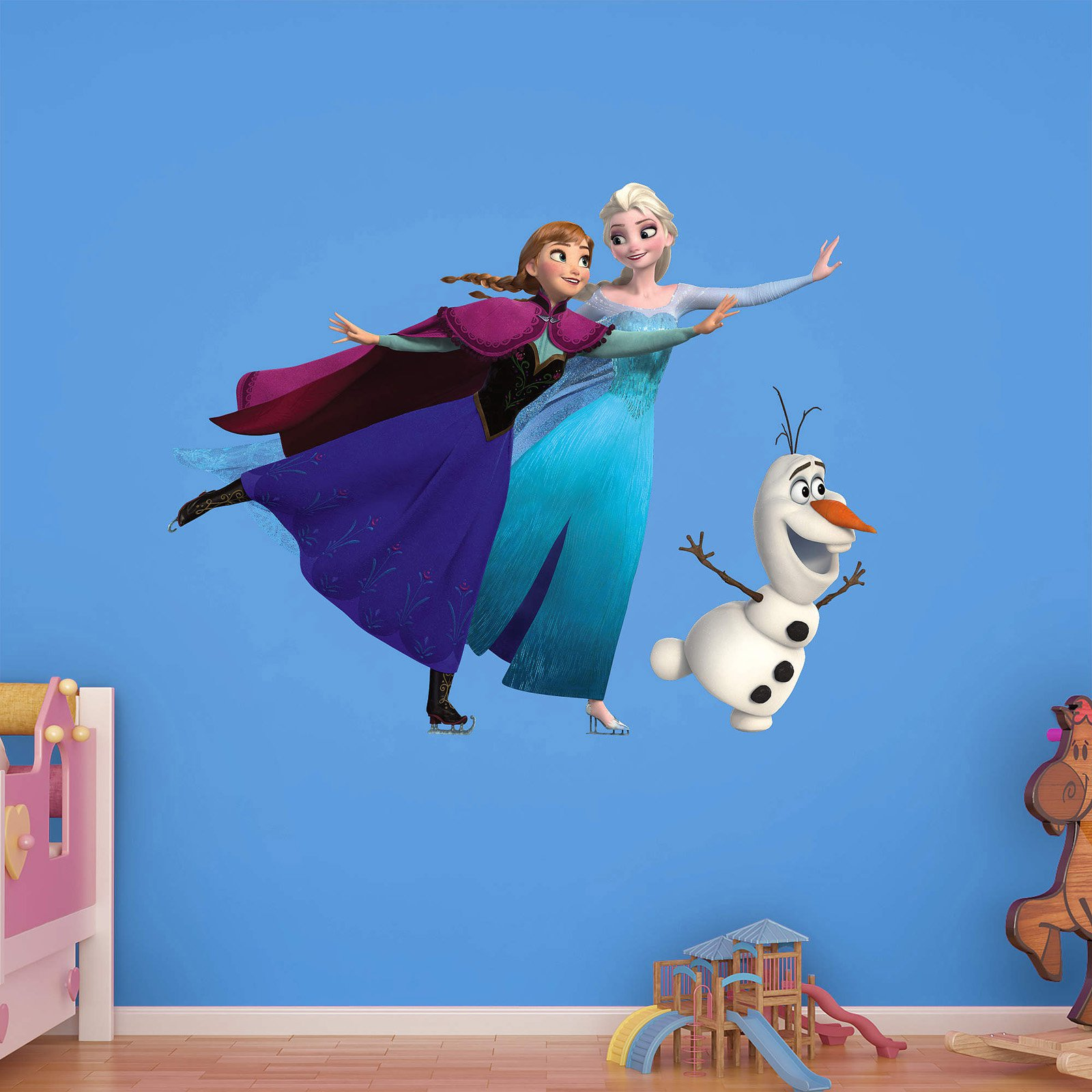 Fathead Frozen Ice Skating Wall Decal Collection