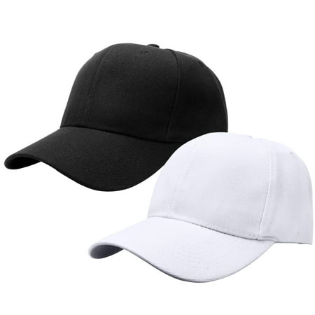 2pcs Baseball Cap for Men Women Adjustable Size Perfect for Outdoor Activities