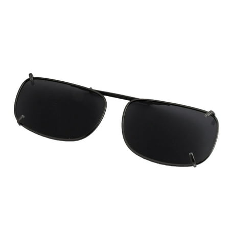 Polarized Sunglasses Driving (Women Men Gray Lens Driving Traveling Polarized Clip On Sunglasses)