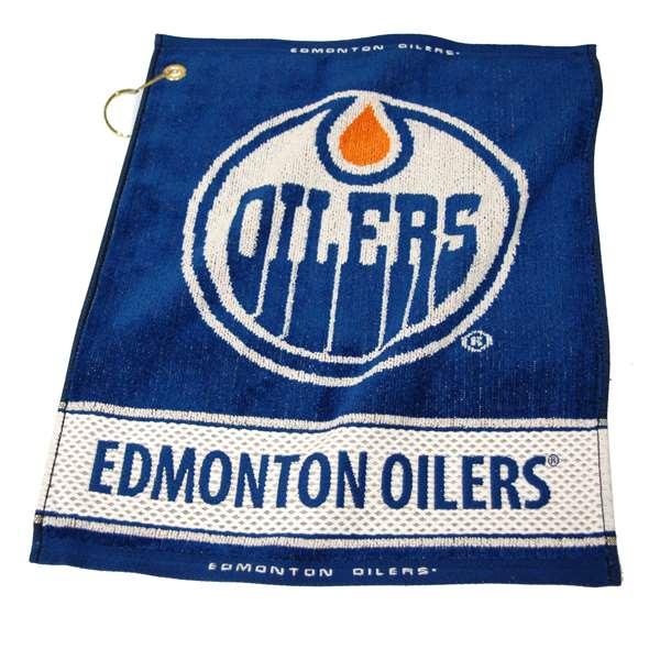 Team Golf NHL Edmonton Oilers Jacquard Woven Golf Towel