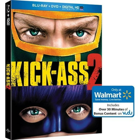 Kick-Ass 2 (Blu-ray + DVD + Exclusive Bonus Content) (Walmart Exclusive)