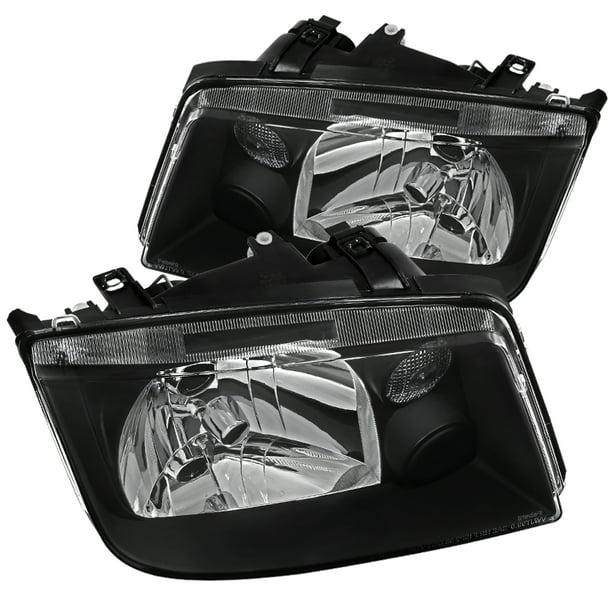 Headlight Assembly For 99-05 VW Jetta Bora MK4 Built In Fog Headlamps Light Pair