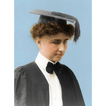Helen Keller American Author Rolled Canvas Art   Science Source  24 X 36