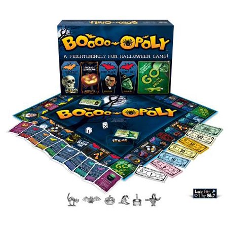 Late For The Sky Boo-opoly Board
