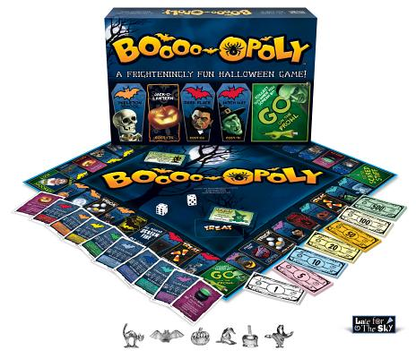 Halloween Jamberry Games (Late For The Sky Boo-opoly Board)