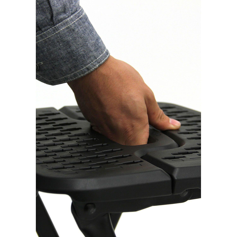 Mity Lite Flex e Folding Stool Black Walmart