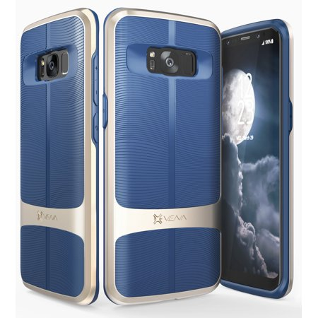 Galaxy S8 Plus Case, Vena vAllure Case for Samsung Galaxy S8 Plus Gold (PC) / Navy Blue (TPU) - image 1 of 1