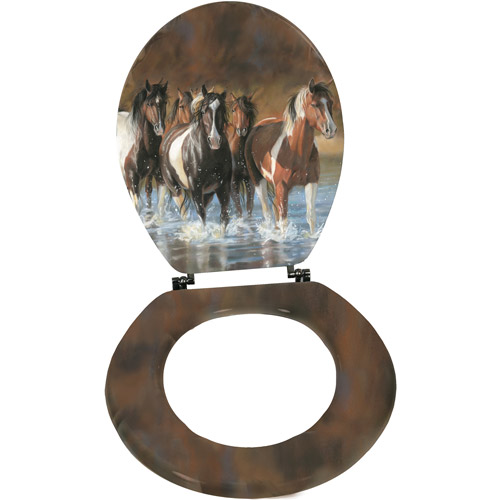 Rivers Edge Products Horse Toilet Seat