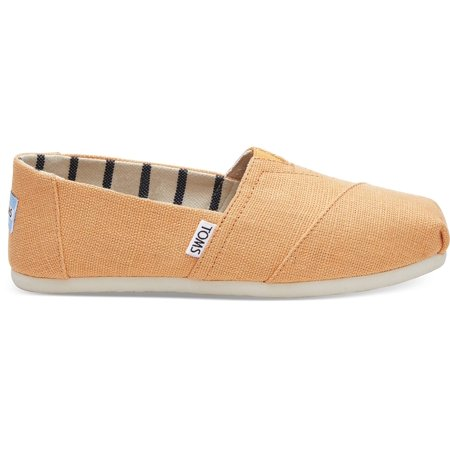 18e0d55f8e7db Toms 10011673: Heritage Canvas Women's Classic Slip On (9.5 B(M) US)