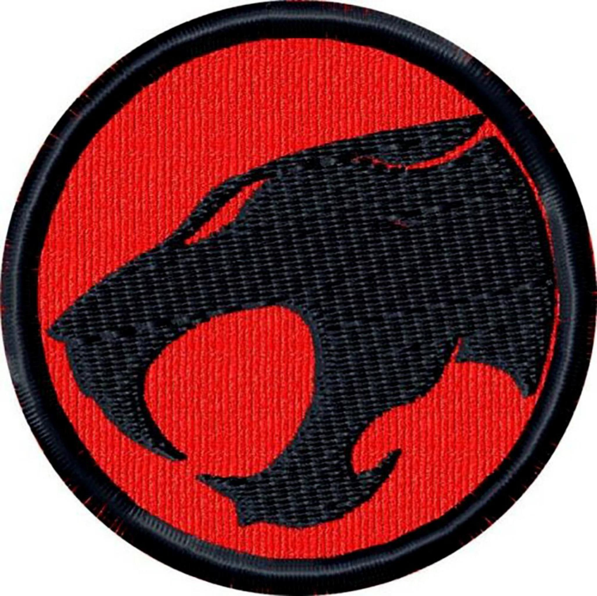 """Superheroes Thundercat Cartoon 3"""" Logo Embroidered Iron/Sew-on Applique Patch"""