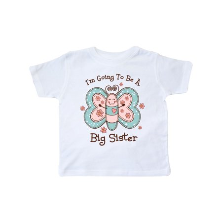 Butterfly Future Big Sis Toddler T-Shirt
