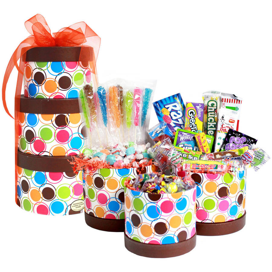 Candy Crate Birthday Candy Gift Tower