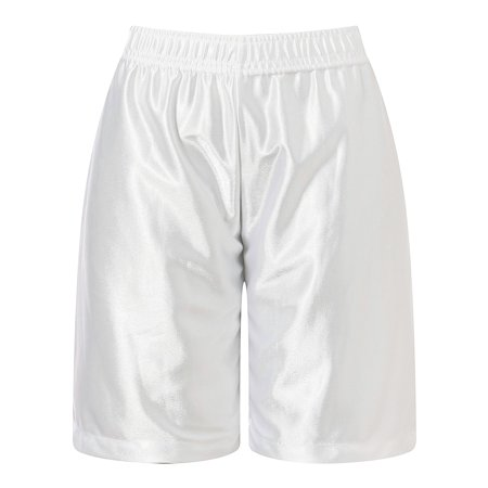 Richie House Boys White Leisure Classic Smooth Sports Shorts 8/9 - Boys White Linen Shorts