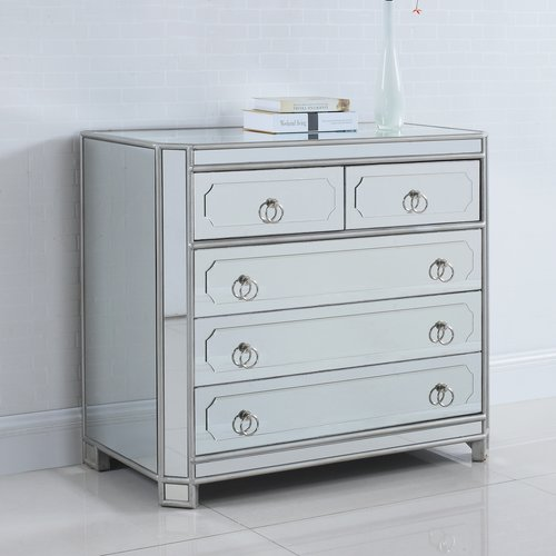 BestMasterFurniture 5 Drawer Hall Chest