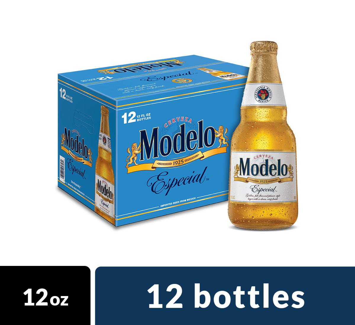 Modelo Especial Import Beer, 12 pk 12 fl oz Bottles, 4.4% ABV