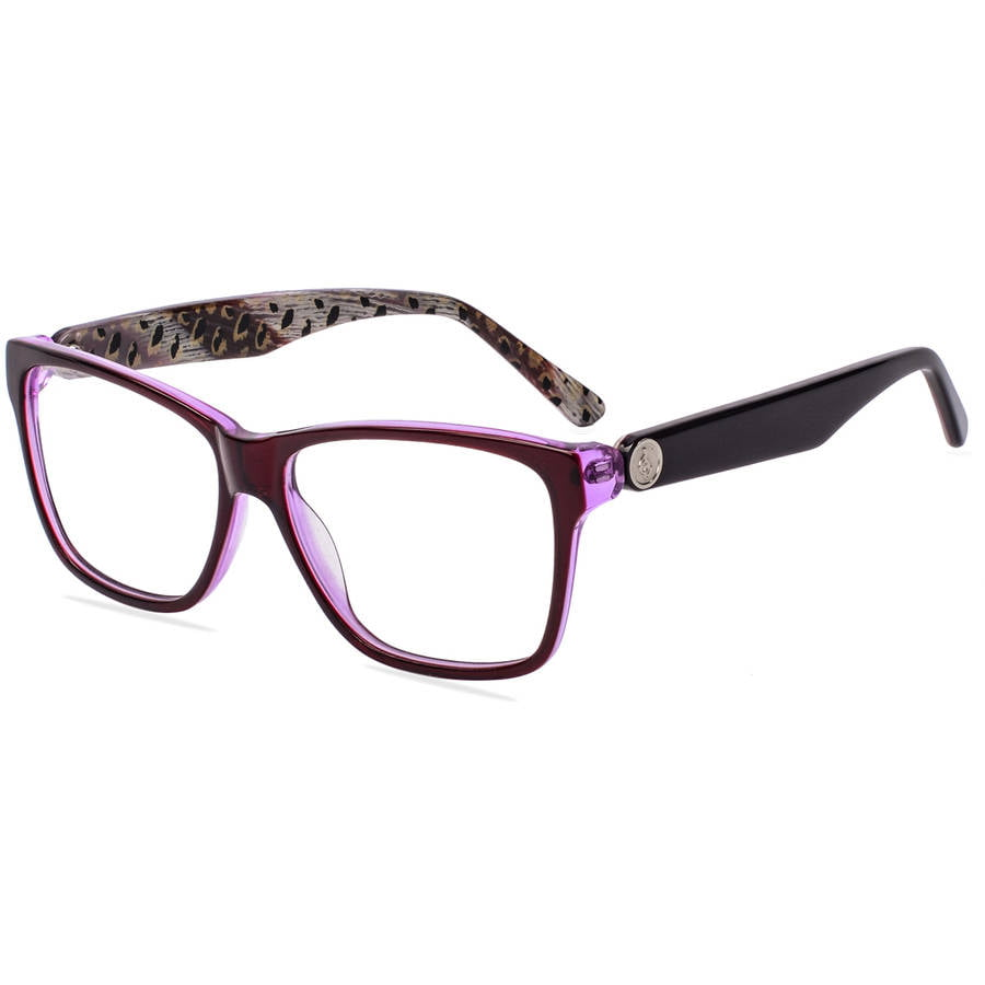 Baby Phat Rx Able Frames With Case Brown Walmart Com