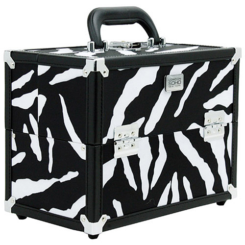 London Soho New York Soho Zebra Beauty Case