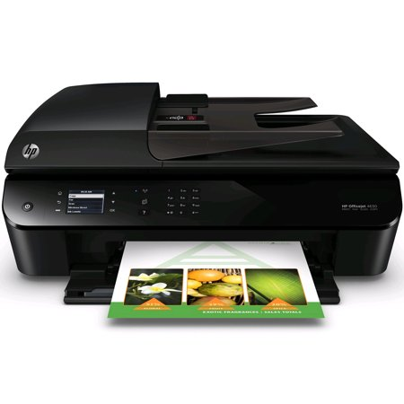 HP Officejet 4630 Wireless All-In-One Inkjet Color Printer - Black