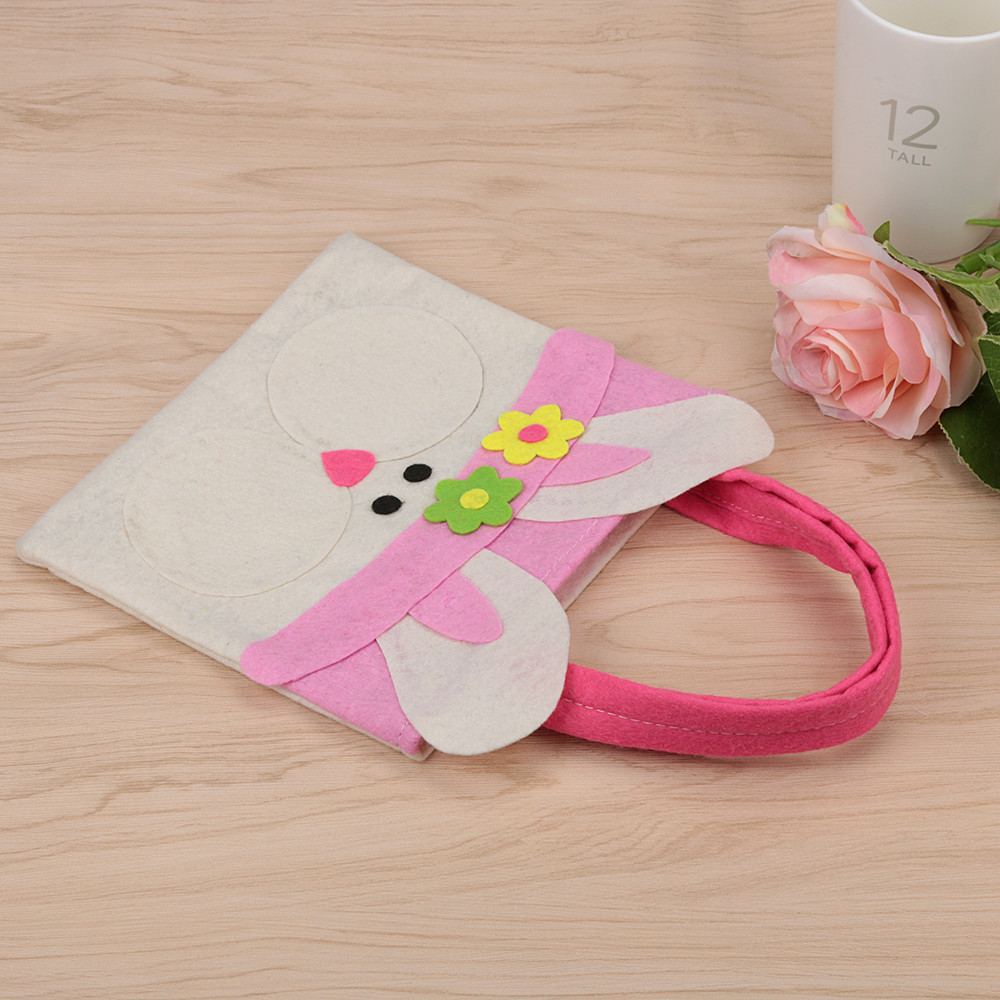 Mosunx Easter Rabbit Gift Candy Bag Creative Present Home Accessory