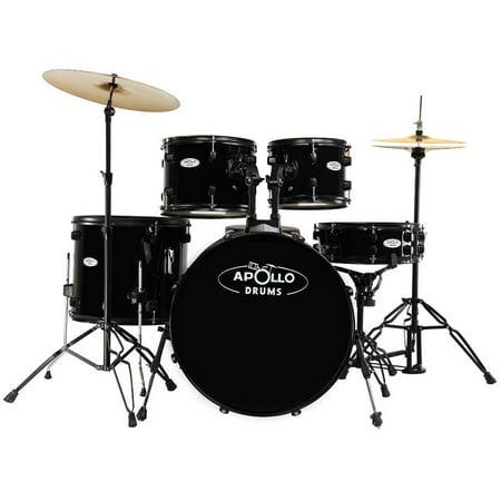 apollo drums 5 piece drum set. Black Bedroom Furniture Sets. Home Design Ideas