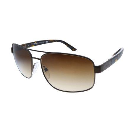 Prada PR 58NS ACD6S1 60mm Womens Aviator Sunglasses