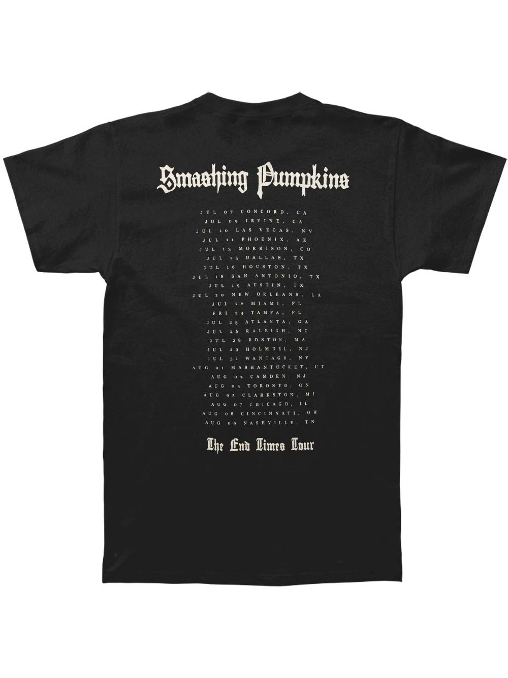 Smashing Pumpkins Men/'s  Pumpkins Faithless Slim Fit T-shirt Black