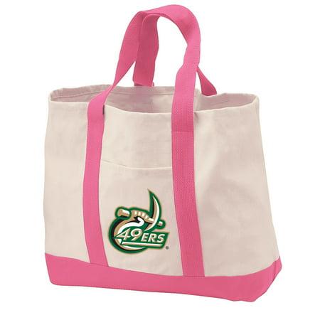 UNCC UNC Charlotte Tote Bag CANVAS UNCC UNC Charlotte Tote Bags for TRAVEL BEACH SHOPPING