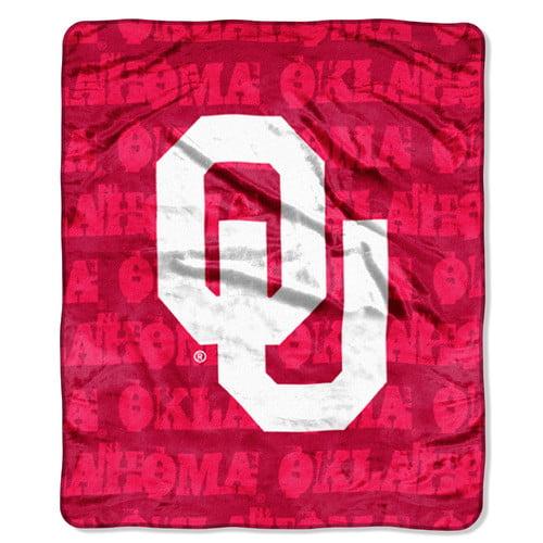 Oklahoma Sooners NCAA Micro Raschel Throw Blanket The Northwest Company 482463