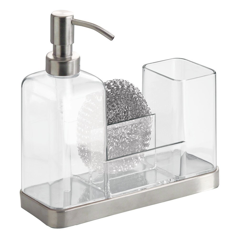 Forma Kitchen Caddy With Soap Dispenser Pump & Scrubby
