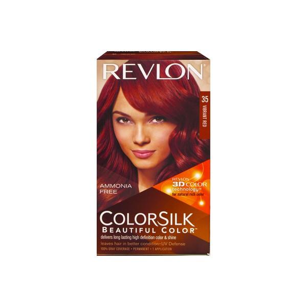 Revlon Colorsilk Hair Color Vibrant Red