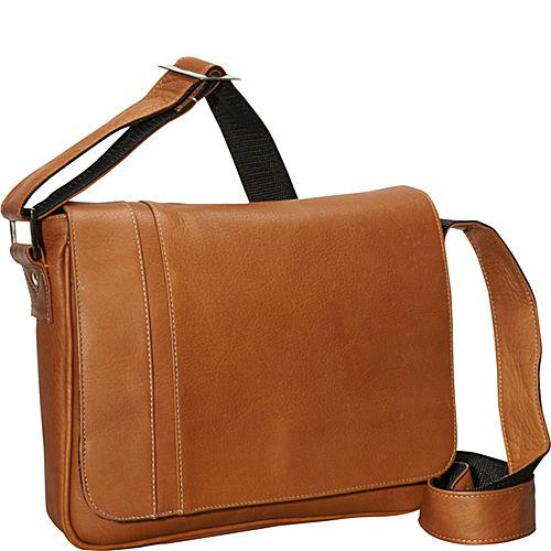 David King & Co. Deluxe Medium iPad Messenger with Inlay