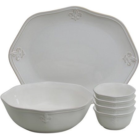 Better Homes And Gardens Country Crest 6 Piece Serveware
