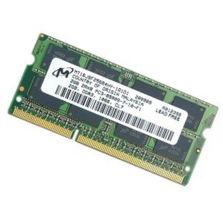 2GB DDR3 PC-8500 1066MHz 204pin CL7 Micron Chip MT16JSF25664HZ-1G1F1 MT16JSF25664HZ1G1F1