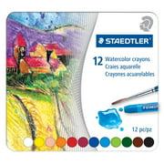 Staedtler Karat Watercolor Crayon Set, 10-Colors