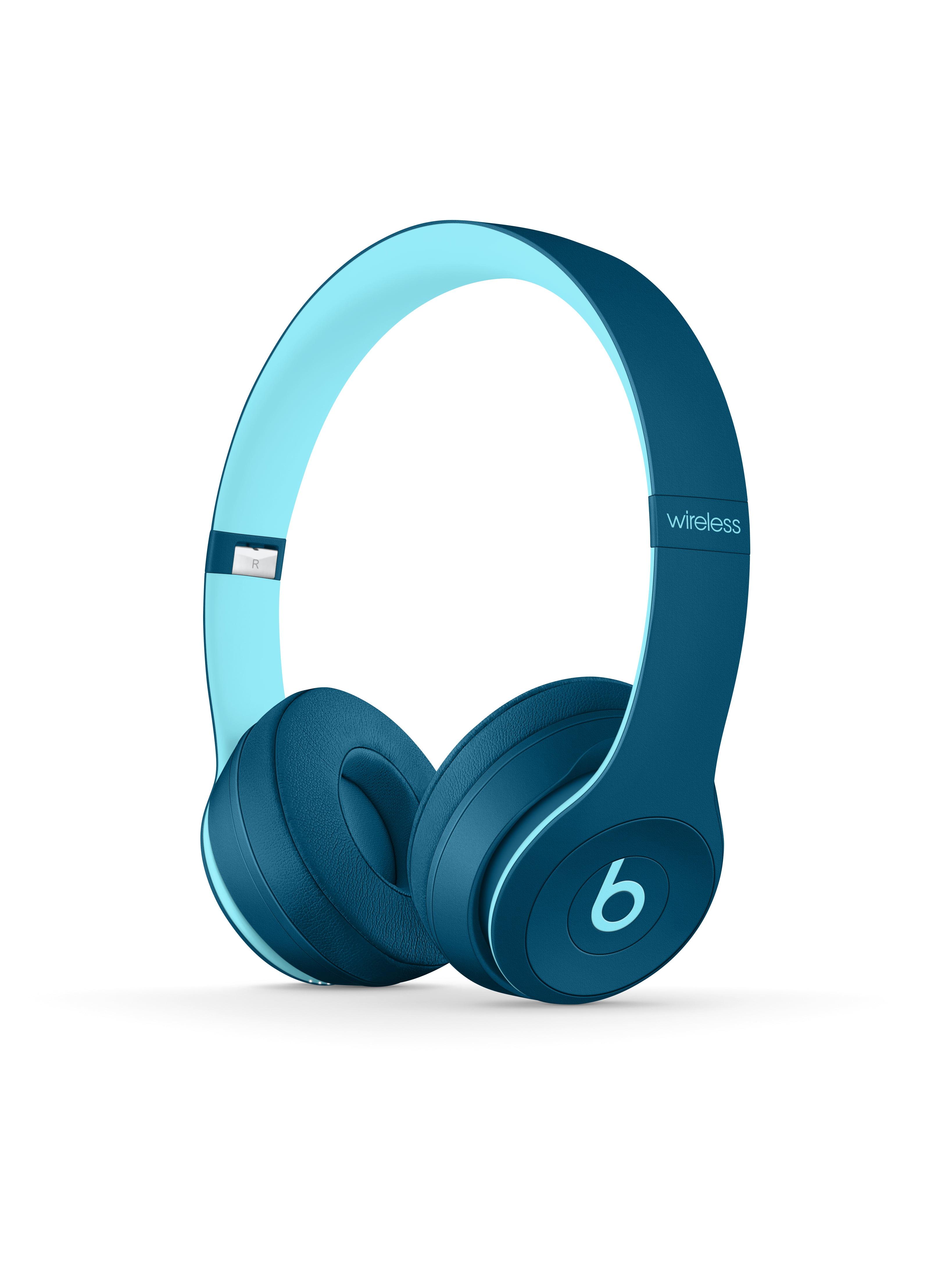 Beats Solo3 Wireless On Ear Headphones Beats Pop Collection Pop Blue Walmart Com Walmart Com
