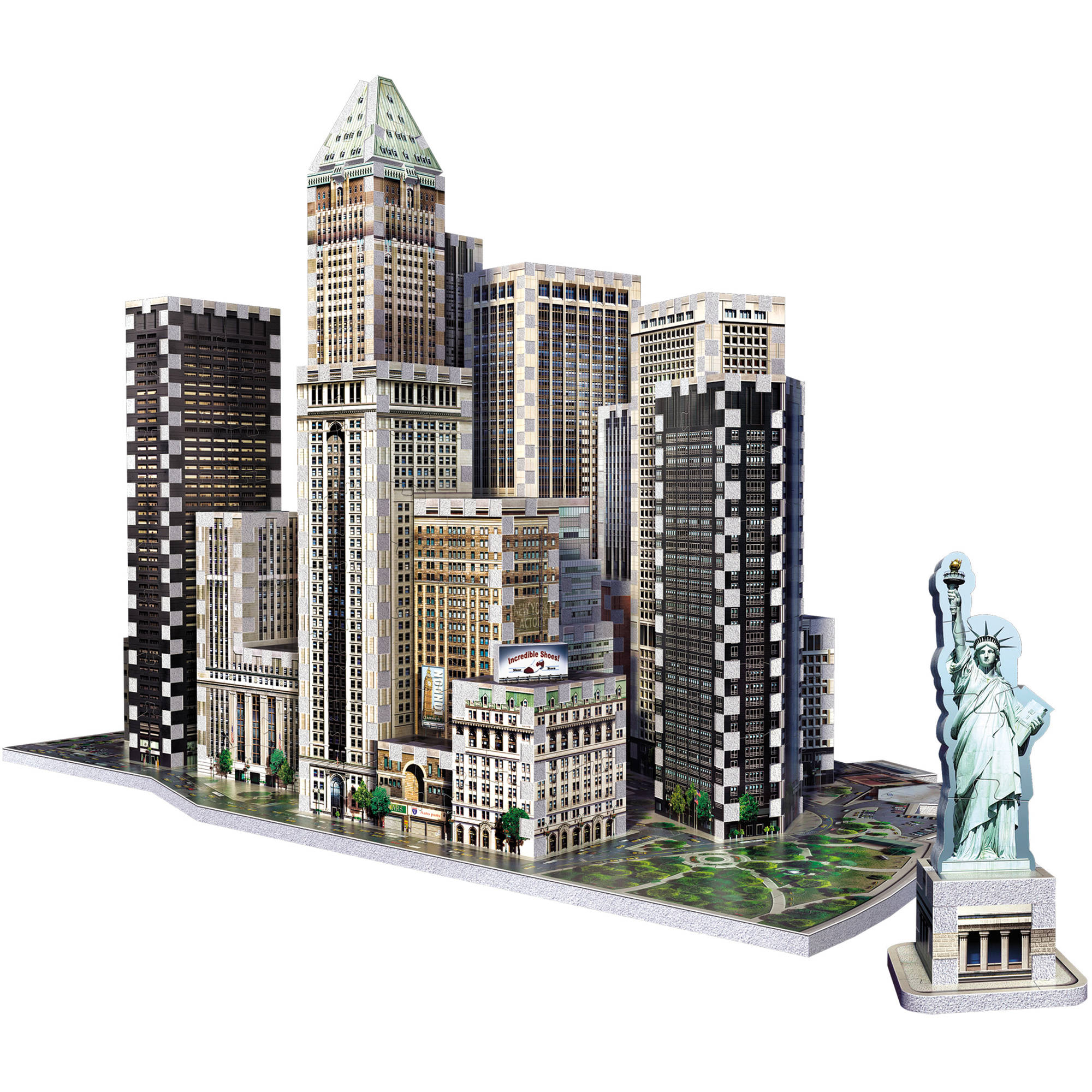 Wrebbit 3D 2013 Financial District New York 3D Puzzle by Wrebbit 3D