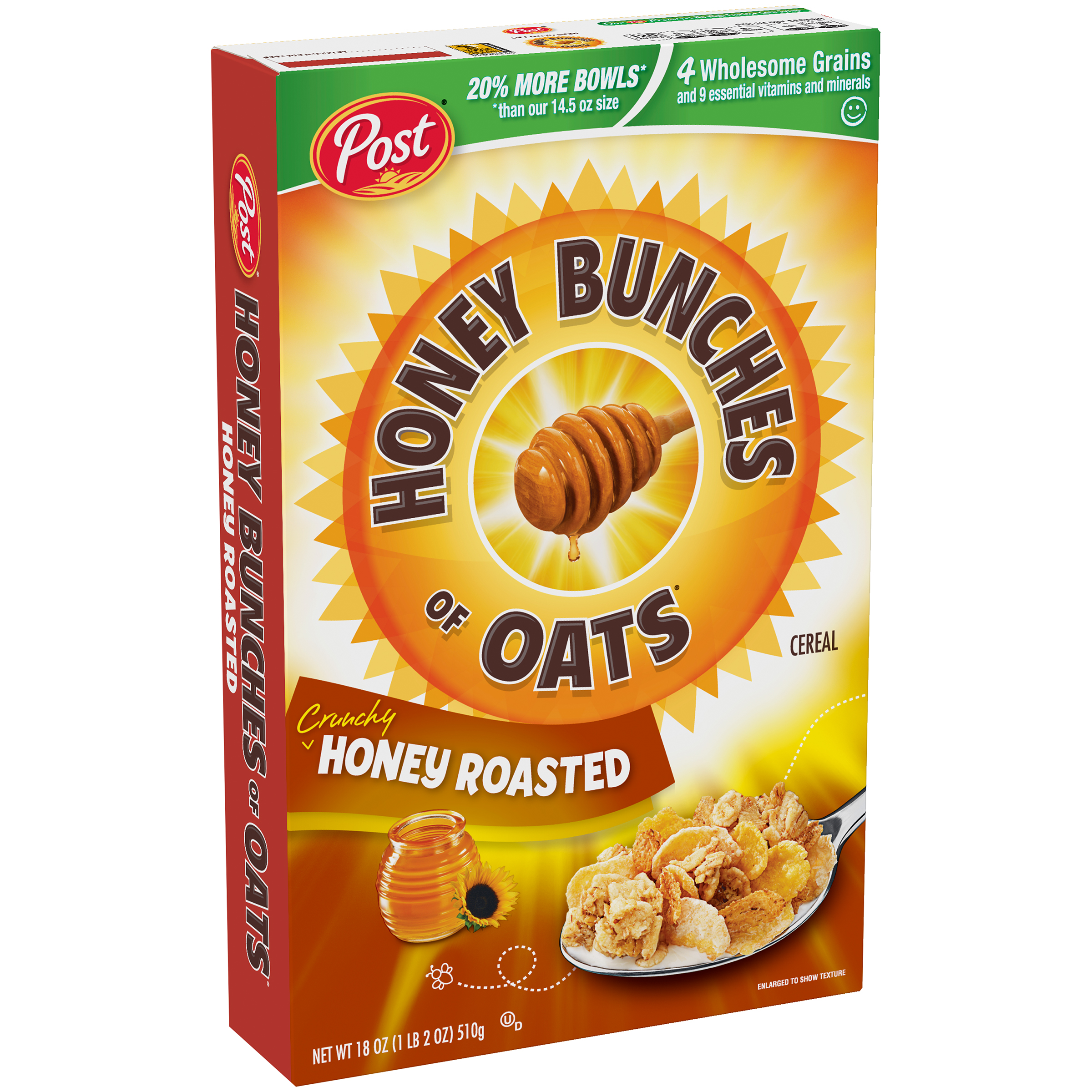 Post��� Honey Bunches of Oats�� Crunchy Honey Roasted Cereal 18 oz. Box