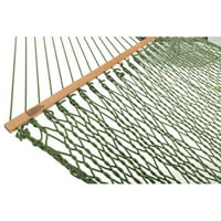 Highland Dunes Hamby Large Rope Cotton Tree Hammock
