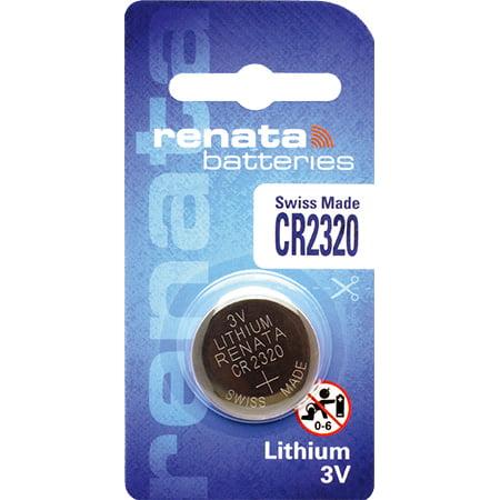 10 x Renata 2320, Piles au lithium 3V CR2320 - image 1 de 2