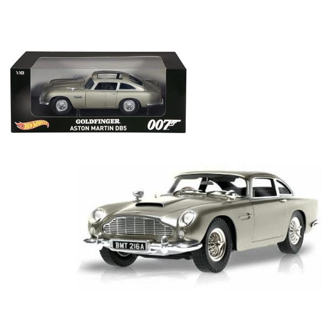 1 By 18 Scale Diecast Aston Martin DB5 Silver James Bond