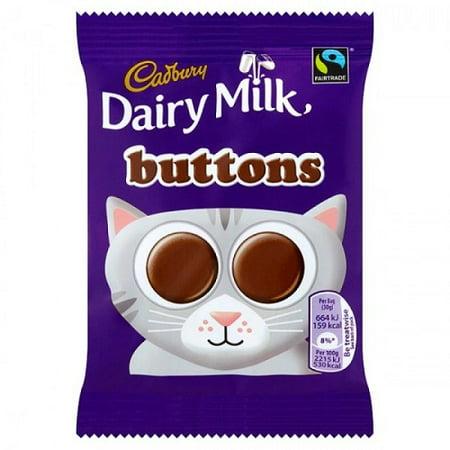 Cadbury Buttons 30g (Pack of