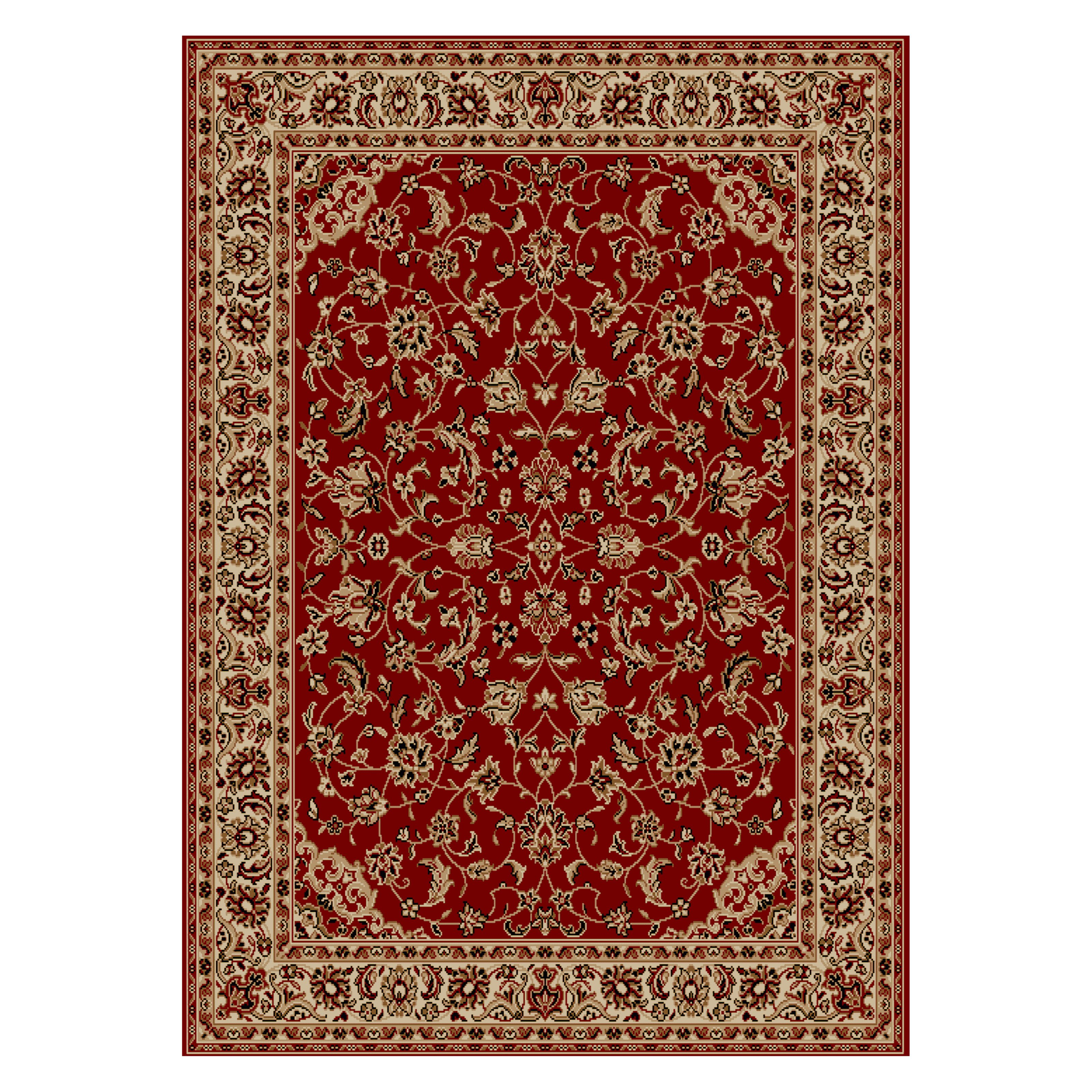 Radici USA Como 1833 Area Rug - Red