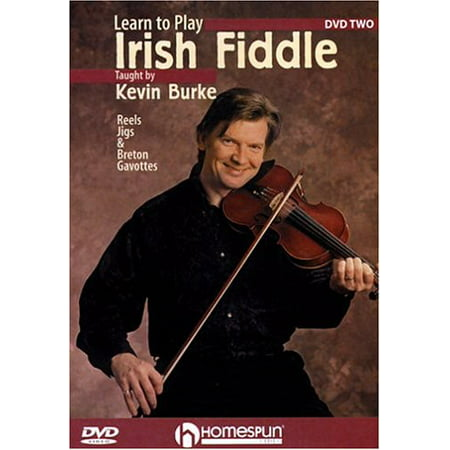 Learn to Play Irish Fiddle 2: Reels Jigs & Gavotte (DVD)