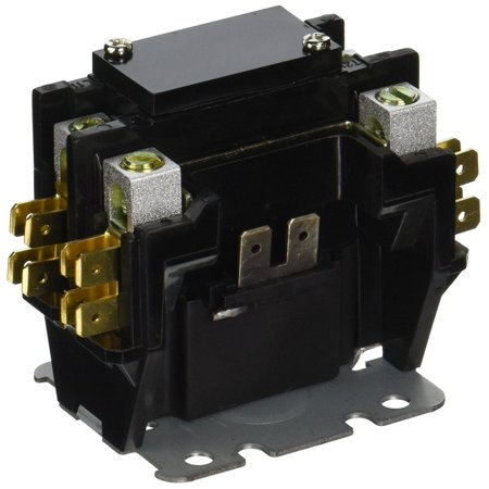 Emerson 94-388 1 Pole Definite Purpose Contactor with 24 VAC Coil, Universal style mounting bracket fits existing mounting holes By Emerson Thermostats Ship from US