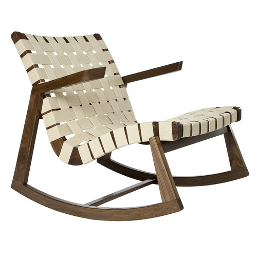 Rapson-Inc. Greenbelt Rocking Chair with Arms