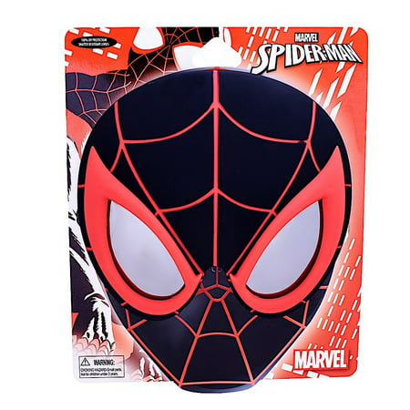 Marvel Spiderman Costume (Party Costumes - Sun-Staches - Marvel Black Spider Man SunSatches)