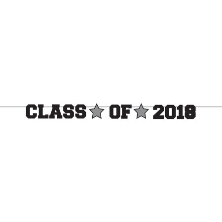 Class of 2018 Graduation Ribbon Banner