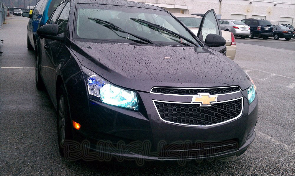 White Chevy Cruze >> Chevrolet Chevy Cruze White Replacement Light Bulbs For Headlamps Headlights Head Lamps Lights Walmart Com