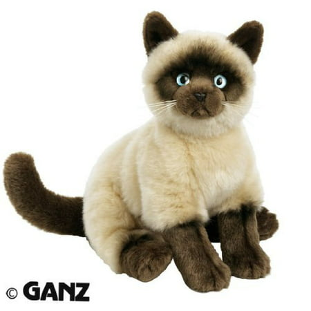 Webkinz Signature Siamese Cat with Trading Cards