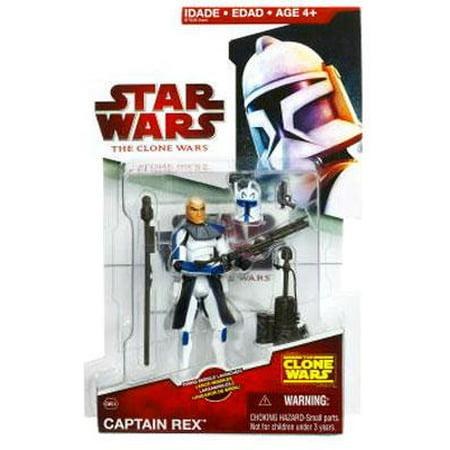 Star Wars The Clone Wars Clone Wars 2009 Captain Rex 3.75